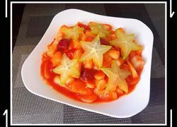 茄汁水果年糕