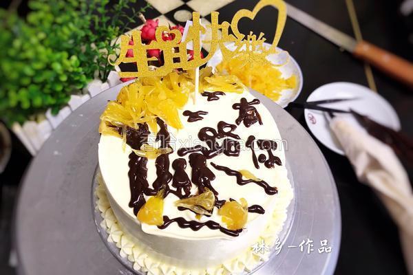 水果树生日蛋糕