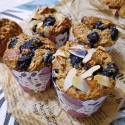 蓝莓全麦燕麦南瓜子马芬的做法[图]
