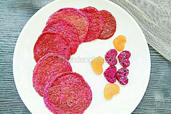 火龙果软饼