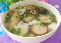 椰子香菇鸡汤