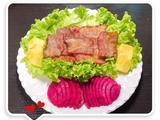 韩式生菜卷培根鲜果的做法[图]
