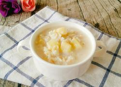 牛奶苹果燕麦粥