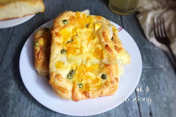水果蔬菜芝士面包