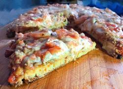 【新酮学报道】生酮低碳水免烤箱版仿海鲜披萨