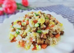 鹅肝肠炒饭