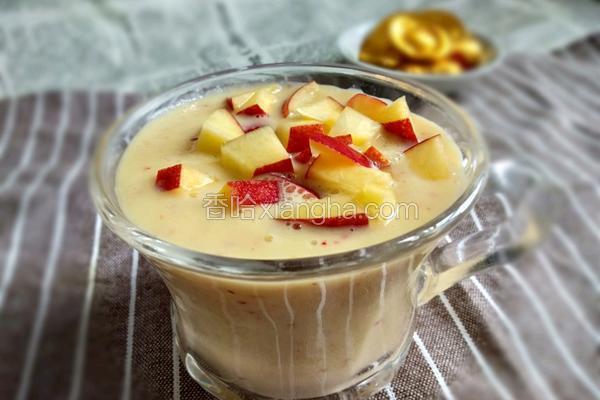 油桃酸奶昔