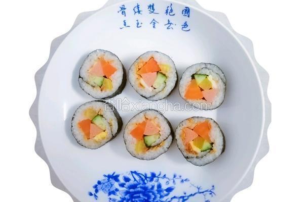 自制寿司 #格林的懒人美食日记#