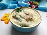 猪肝菠菜粥的做法[图]
