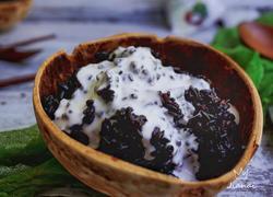 椰浆黑米饭