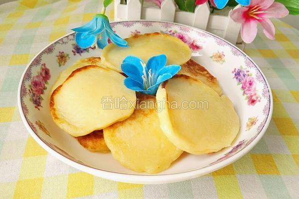 牛奶鸡蛋煎饼