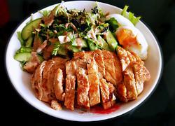 鸡脯肉沙拉(减脂餐)