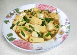 小葱烧豆腐