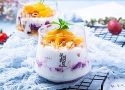紫薯酸奶脆脆杯