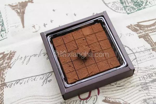 520手工生巧克力