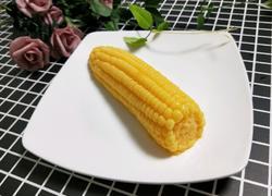 芒果玉米布丁