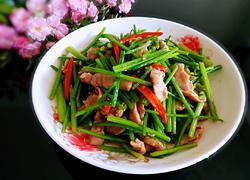 芹菜炒肉丝
