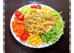 多彩意面蔬菜沙拉 #夏日清爽轻食菜#