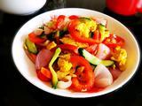 甜椒炒鸡蛋#减脂轻食菜#的做法[图]