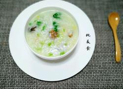 牡蛎干贝砂锅粥