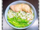 芦笋鸡汤酿皮的做法[图]