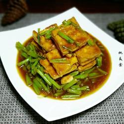 黎蒿烧豆腐