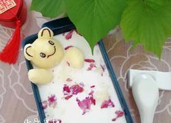 土豆泥泡澡熊 玫瑰牛奶浴