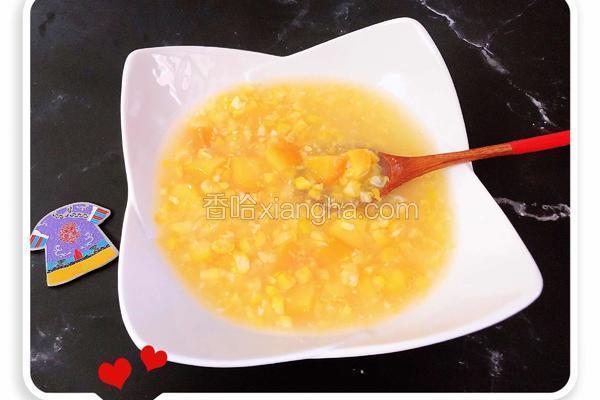黄桃玉米银耳甜羹