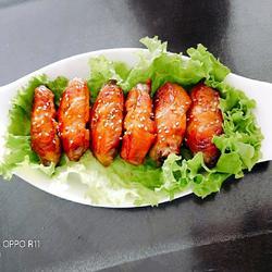 烤箱蜜汁鸡翅的做法[图]