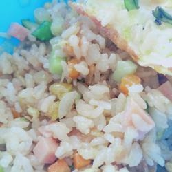 五彩蛋炒饭的做法[图]