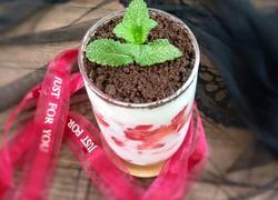 草莓奥利奥盆栽