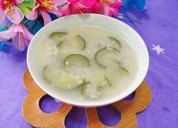 黄瓜小米粥