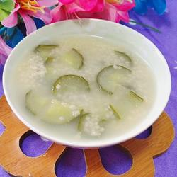 黄瓜小米粥的做法[图]
