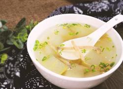 沙虫冬瓜汤