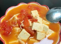 减脂番茄豆腐汤