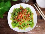 辣椒酱拌空心菜梗(减肥版)的做法[图]