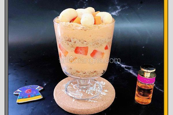 木瓜酸奶奶昔木糠杯
