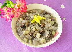 洋葱藕丁炒土豆