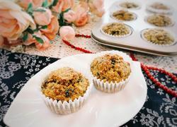 燕麦海苔肉松马芬(低脂轻卡)