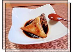 桂花红糖蜜粽(附粽子制作步骤)