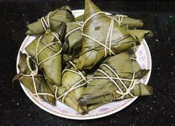 八宝米三角粽