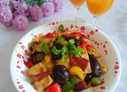 腊肠豆腐香菇煲