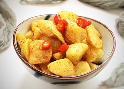 香辣椒盐薯角