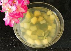 冬瓜皮苹果汤