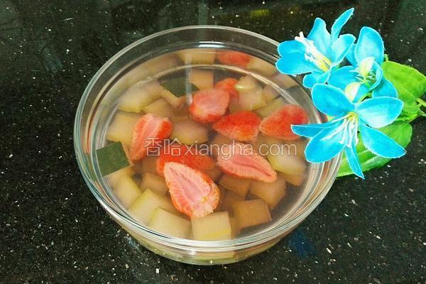 冰糖草莓冬瓜皮