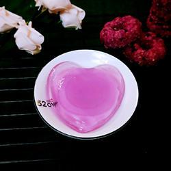 紫甘蓝冰粉
