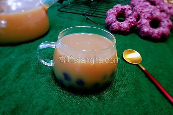 紫薯珍珠奶茶