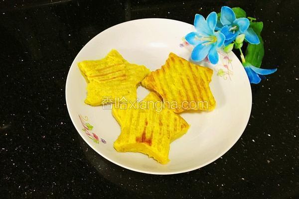 芒果牛奶煎饼(星形)