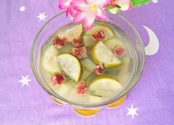 柠檬冬瓜皮玫瑰花茶