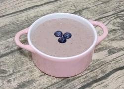 蓝莓香蕉奶昔
